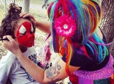 Face Painter in Orlando