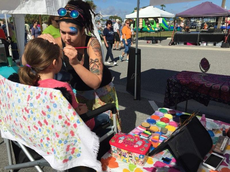 Hire a face painter orlando face painters colorful day for Face painting for parties