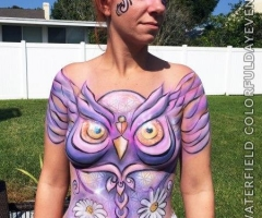 Body Paint for EDC Orlando