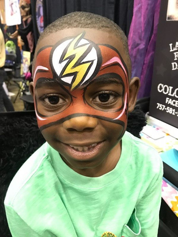 Super Hero Face Painting Orlando Face Painting Colorful Day Events