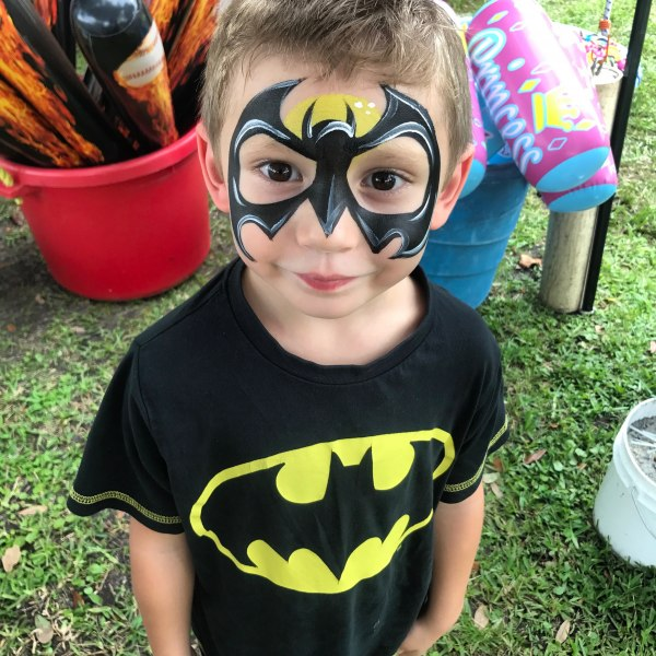 Images Tagged Batman Face Paint Orlando Face Painting Colorful Day Events