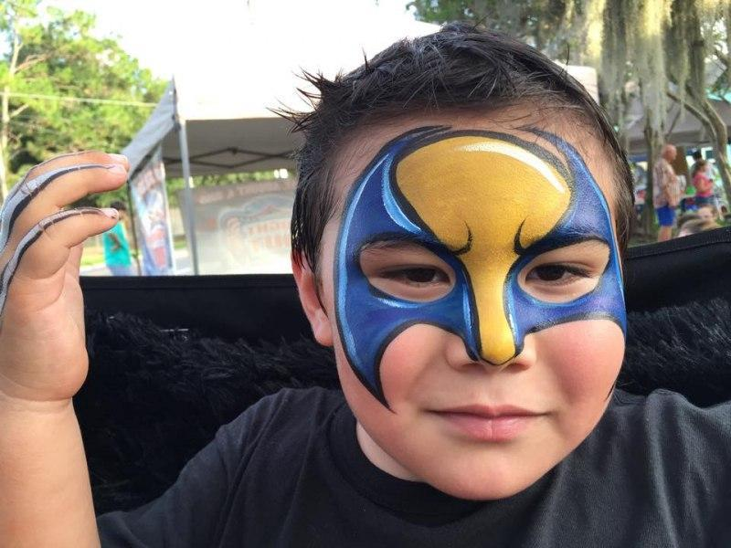 Super Hero Face Painting Orlando Painters Colorful Day Events