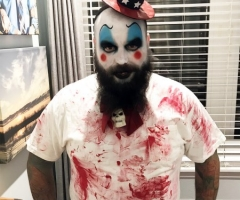 Captain Spaulding Face Paint Design
