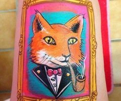 Fox Paint Design