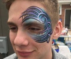 Teen Face Paint Design