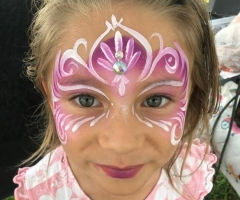 Pink Princess Mask