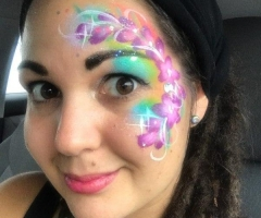 Adult Face Paint Design