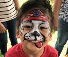 Paw Patrol Face Paint Design