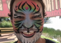 Rainbow Tiger Adult Design