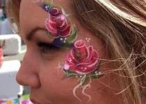 Adult Face Paint Eye Design