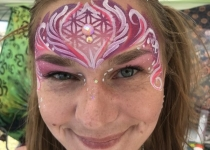 Adult Crown Face Paint Design