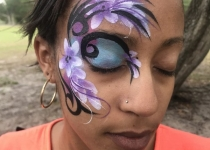 Tribal flower Eye Design