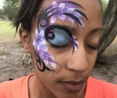 Tribal flower Eye Design