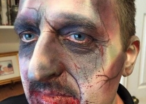 Zombie Face Paint Design