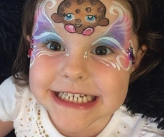 Cookie Cookie Shopkins face paint