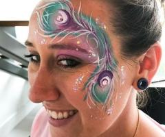 Peacock Feather Eye Design