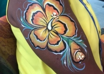 flower arm design