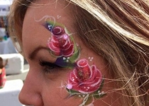 Roses Eye Design