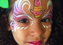 Shopkins Face Paint Design