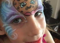 shopkins face painting design