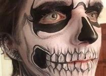 Skull Face Paint Design