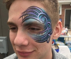 Teen Face Paint Design