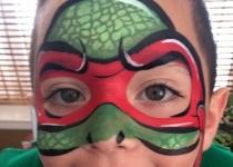 TMNT Face Paint Design