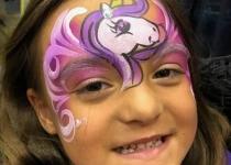 Unicorn Face Paint