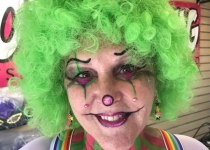 Clown Face Painting Design