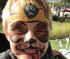 Paw Patrol Face Paint Design