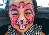 Bunny Face Paint Design