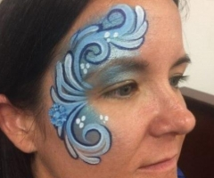 Adult Face Paint Eye Design