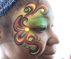 Adult Face Painting Design