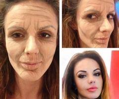 Aged Makeup Effect