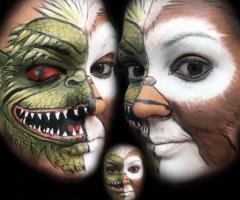 Gremlins Face Paint