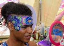 Third Eye Face Paint Design