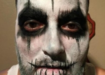 The Purge Movie Face Painting
