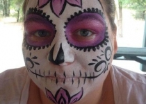 Sugar Skull Florida Face Painter
