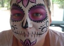 Sugar Skull Florida Face Painter
