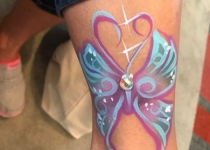 Butterfly Arm Design