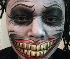 Joker Face Paint