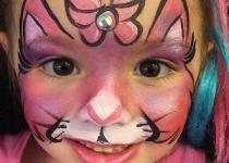Kitty Face Paint Design Orlando