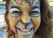 lion king face painting