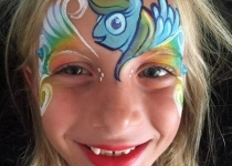 my little pony face painting design
