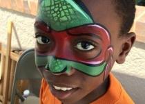ninja turtle Face painting design