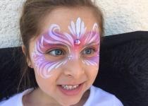 Princess Mask Face Paint Deaign
