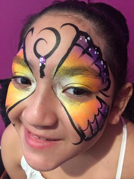 Face paint orlando face painters colorful day events for Face painting business