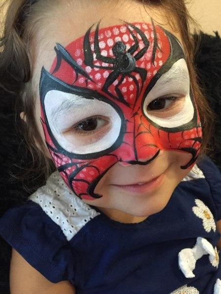 Super Hero Face Painting Orlando Face Painting