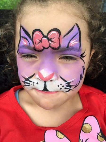 Images Tagged Hello Kitty Orlando Face Painting Colorful Day