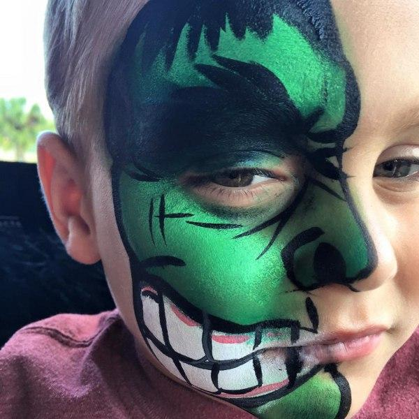 Super Hero Face Painting Orlando Face Painters
